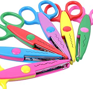Decorative Paper Edge Scissors for Kids Crafts Scrapbooking