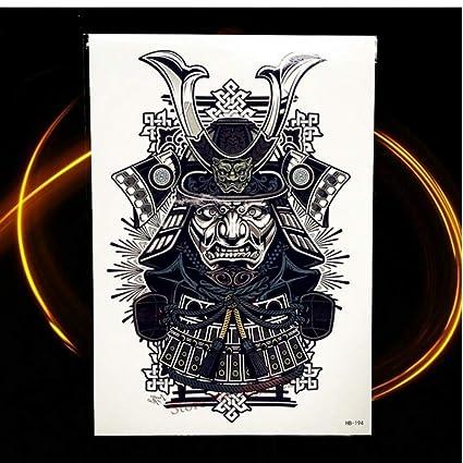 Moda tatuaje temporal impermeable Flash tatuaje pegatina negro ...