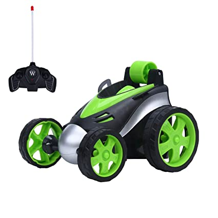 cb9d6c694b265 Amazon.com  Jouet Castle RC Stunt Race Car for Kids