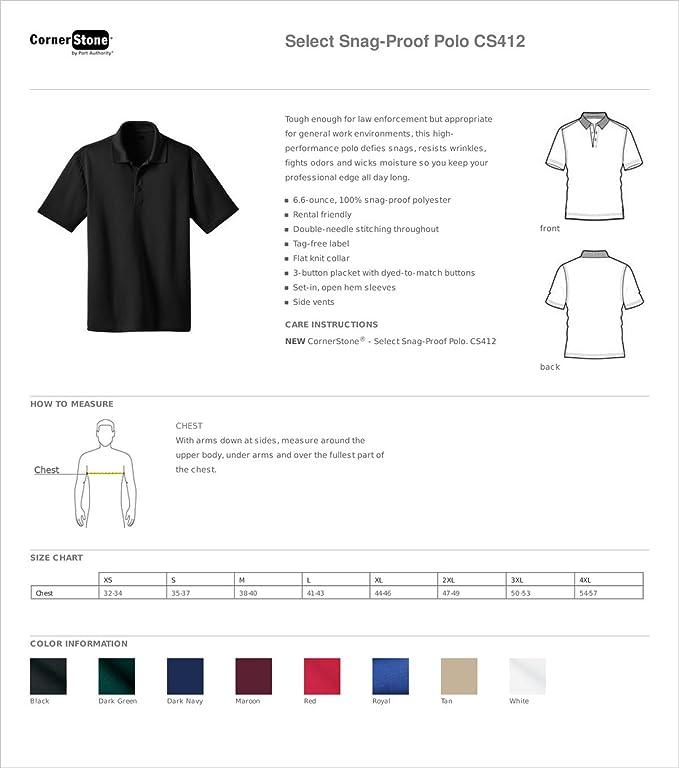 CS412 Cornerstone Select Snag-Proof Polo