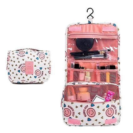 Amazon Com Vistatroy Makeup Bag Travel Organizer Cosmetic Bag