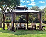 Gazebo Kits Best Deals - 10 x 12 Chatham Steel Hardtop Gazebo