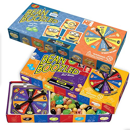 (Set) Jelly Belly Bean Boozled Minions And Wacky Weird Flavored Candy Beans