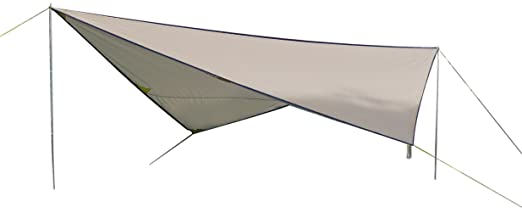 2 opinioni per High Peak 10033 Tarp 2- Tenda da sole, colore: Pietra
