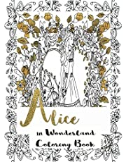 Alice in Wonderland: Coloring Book