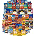 Munch On Care Package Assortment Includes Snacks Cookies Candy Crackers & More (65 Count) from Snack Chest