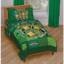 TMNT Teenage Mutant Ninja Turtles 4pc Toddler Bedding Set
