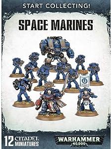 Games Workshop Warhammer 40,000 Start Collecting! Space Marines Miniatures