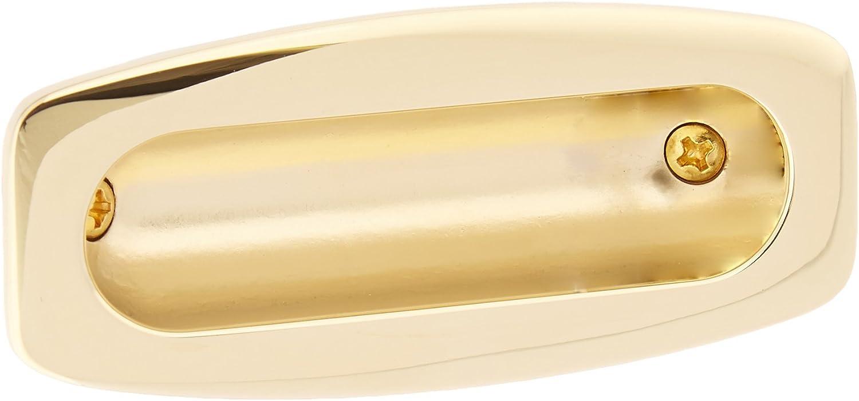 Baldwin 0458033 Sliding Door Flush Pull Home Improvement Vintage Brass Top Notch Distributors Inc.