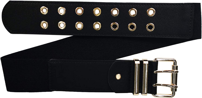 hebilla dorada altura 45 mm varios colores disponibles Mix Your Beauty MYB Cintur/ón el/ástico para mujer