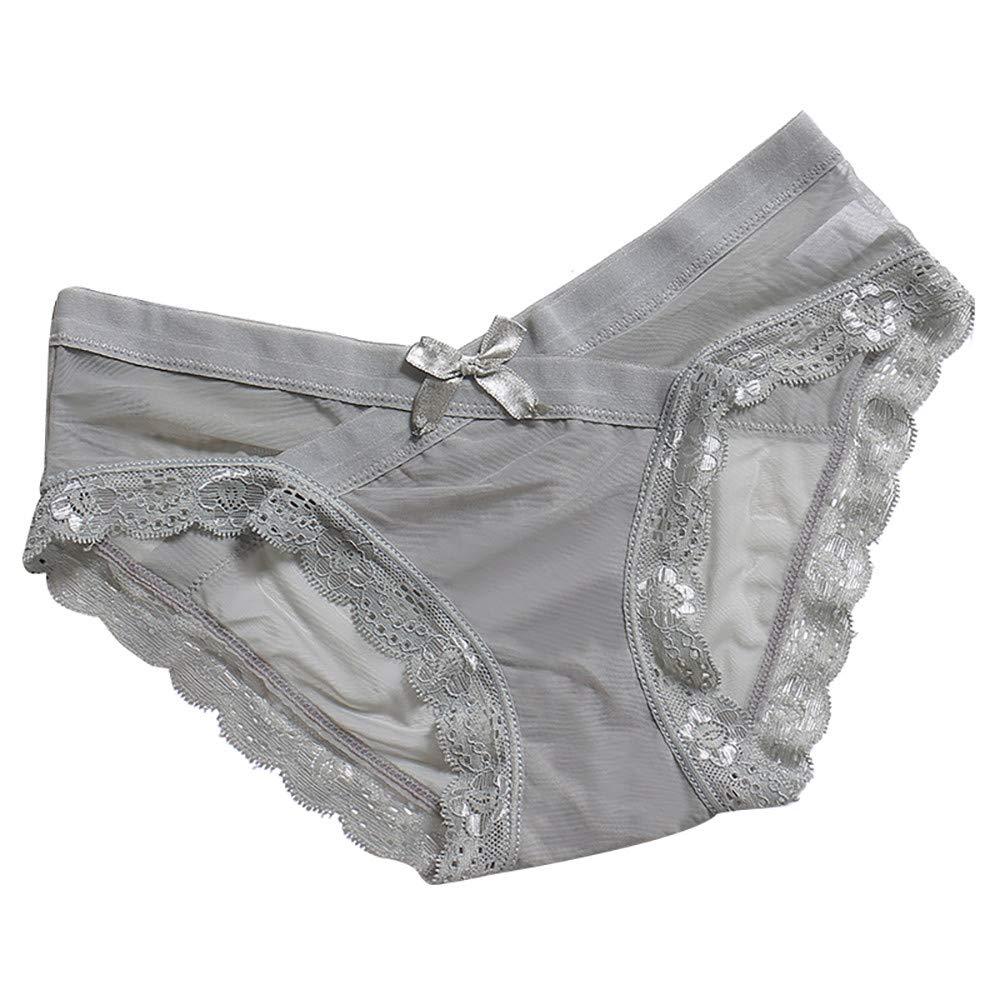 Tangas Sexys Mujer Pack, Zolimx 6Pcs Mujeres Encaje Bragas Tangas Ropa Interior Calzoncillos Sin Costuras Braguitas y Culottes: Amazon.es: Ropa y accesorios