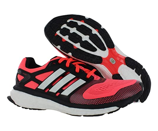 adidas energy boost black and red