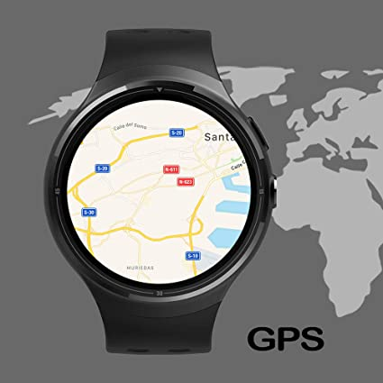 DAM TEKKIWEAR. DMZ012BK. Smartwatch Phone Ak-Z10 Quad Core ...