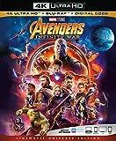 Avengers Infinity War 4K Ultra HD + Blu Ray