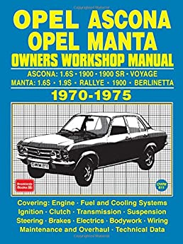 opel ascona opel manta owners workshop manual 1970 1975 brooklands rh amazon com Ascona Optical Comparator Ascona Ticino