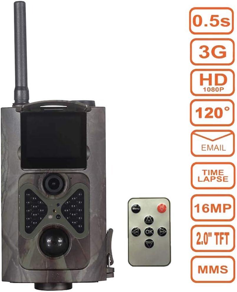 3G Cámara de rastro de caza 16MP 1080P IR de visión nocturna ...
