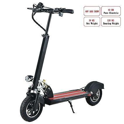 DUNNE Scooter eléctrico Plegable para Adultos, Mini E-Bike ...