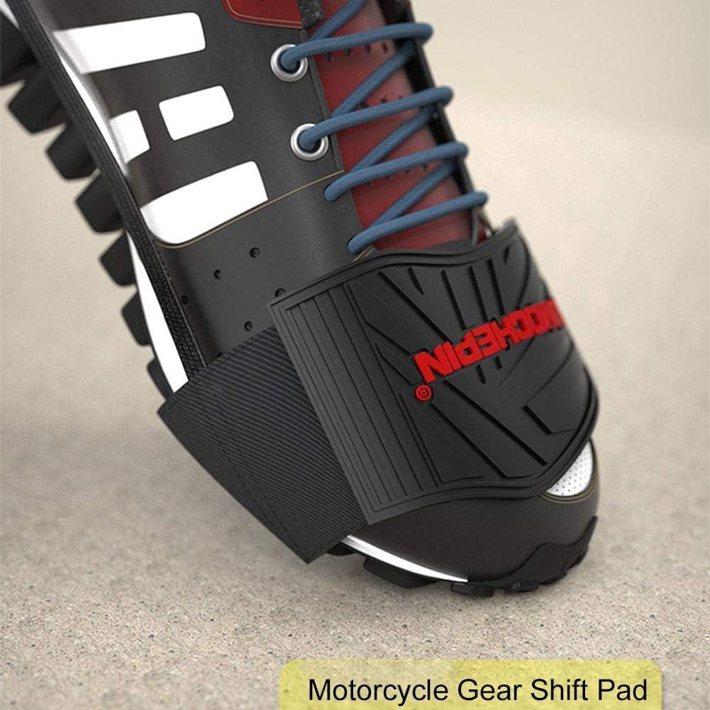 Enjoyyouselves Motorrad Schuhschutz Gummi Motorrad Gangschaltung Schuhschutz Motorrad Schuh Abdeckung Protector Motorrad Gadget Auto
