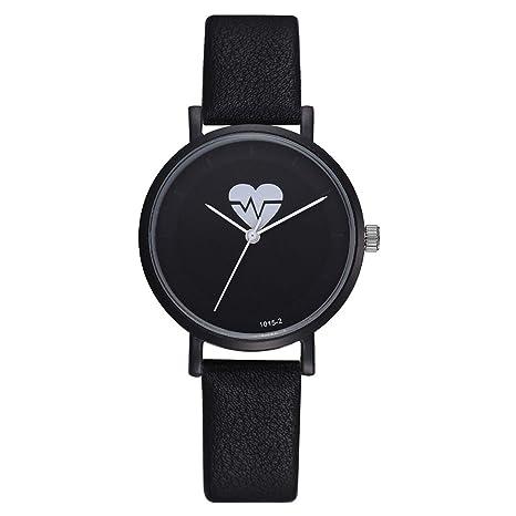 Amazon.com: naivety - Reloj de pulsera para mujer, correa de ...