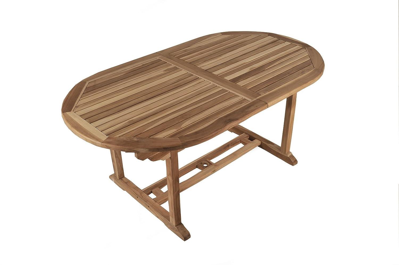 Sam Garten Tisch Aruba Xl Gartenmöbel Aus Teak Holz Auszieh Tisch