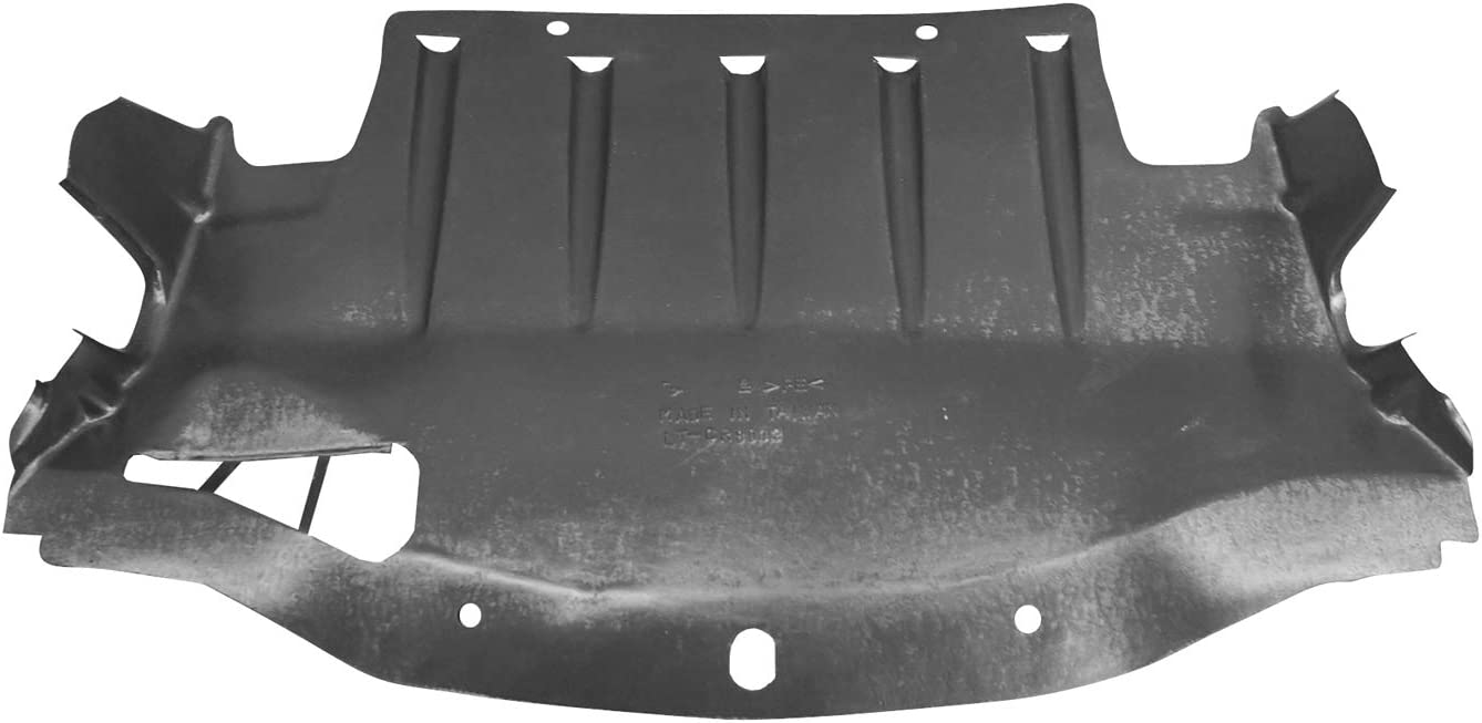 2015-2019 Chrysler 300 Center Undercar Shield; For All Wheel Drive Model; Vacuum Molded; Made Of Pe Plastic Partslink CH1228140