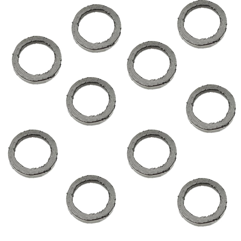 5x Exhaust Muffler Pipe Gasket 30mm For GY6 49cc 50cc 125cc 150cc Scooter Moped