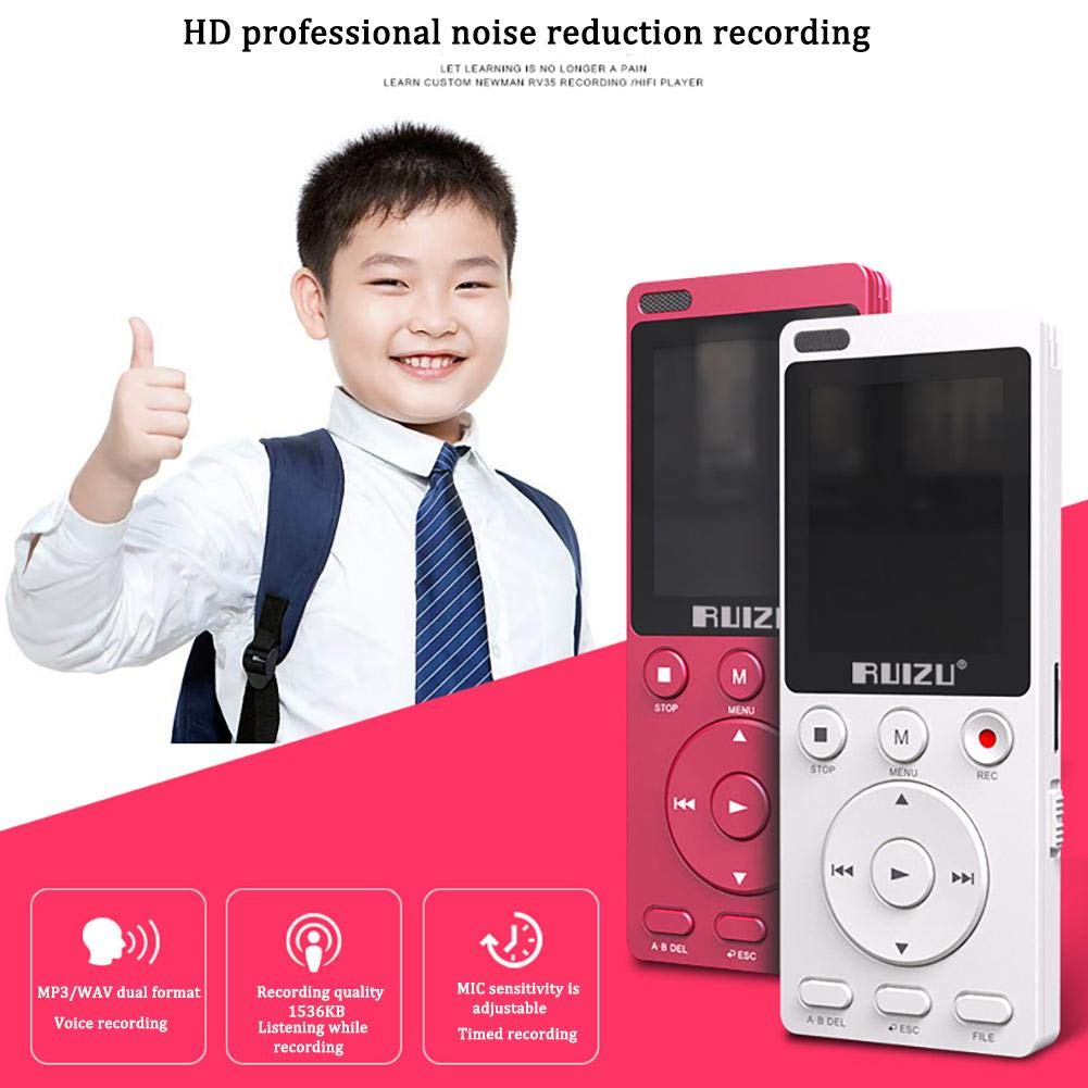 Gereton MP4 English Listening Player 8GB Built-in High Capacity Learning Machine Student Recorder Repeatable Shift Multifunction MP3 by Gereton (Image #4)