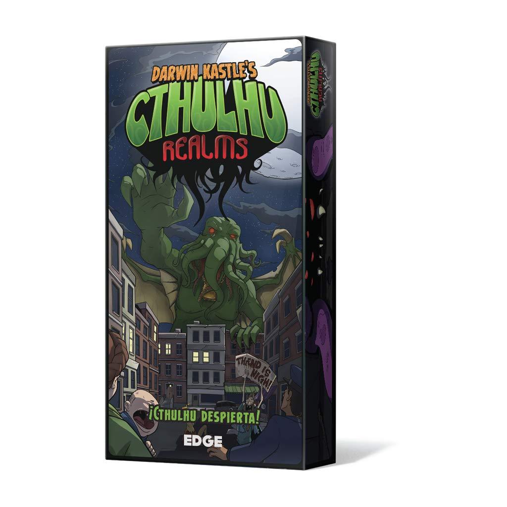 EDGCTR01 Cthulhu Realms Edge Entertainment Juego de Cartas