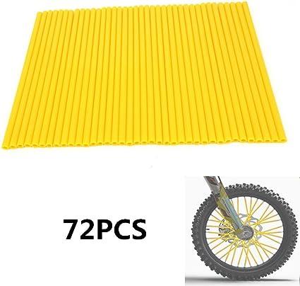"""New 72 Pcs Spoke Cover Guard For 19/""""-21/"""" Rim RM125 RM250 RMZ250 RMZ450 Dirt Bike"""