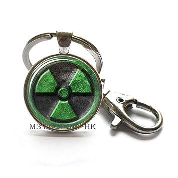 Hulk MT234 - Llavero de cristal inspirado en el símbolo de ...