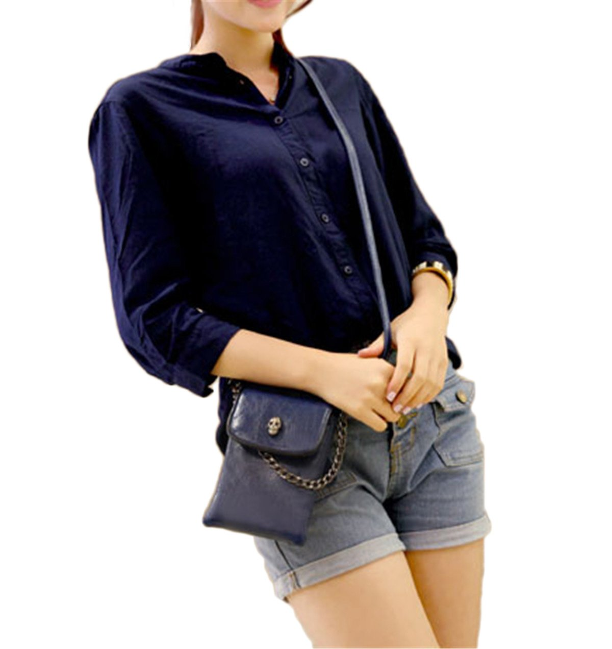 MioCloth Fashion Mini Crossbody Bag Cellphone Pouch Small Handbag Purse