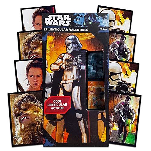 Star Wars 27 Lenticular Valentines