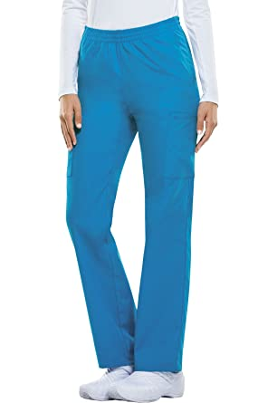 0aed58a9ae1 Dickies EDS Signature Women's Pull On Scrub Pant Xx-Small Riviera Blue