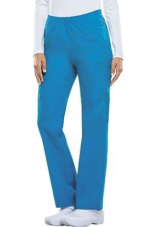 f10f5efb96f Dickies EDS Signature Women s Pull On Scrub Pant Xx-Small Riviera Blue