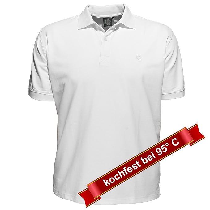 Polo Blanco Ahorn Sportswear Tallas Grandes, 2xl-8xl:6xl: Amazon ...