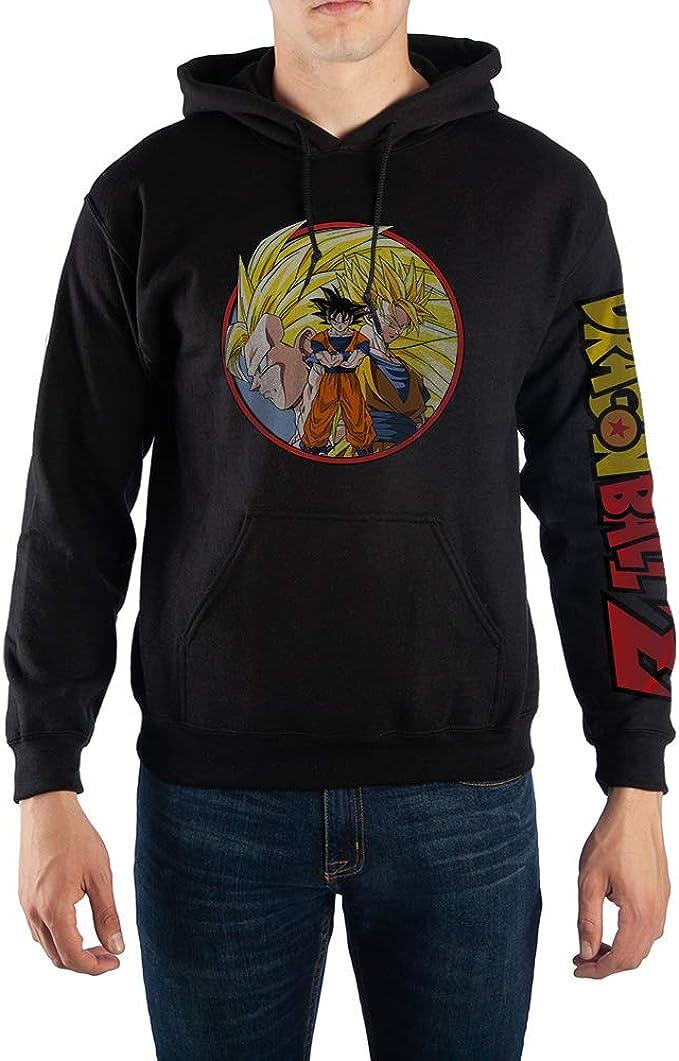 DragonBall Z Super Saiyan Training Goku Hoodie Jacket Fleece SweatShirt Coat
