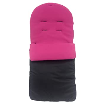 Saco/Cosy Toes Compatible con Quinny Buzz, color rosa oscuro: Amazon.es: Bebé
