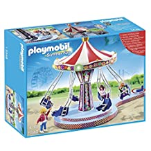 Playmobil 5548 Summer Fun Amusement Park Flying Swings by PLAYMOBIL BENELUX