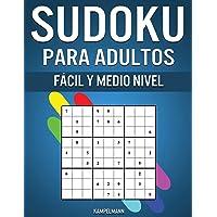 Sudoku Para Adultos Fácil y Medio Nivel: 300 Sudoku para Adultos desde Nivel Fácil hasta Medio con Soluciones y…