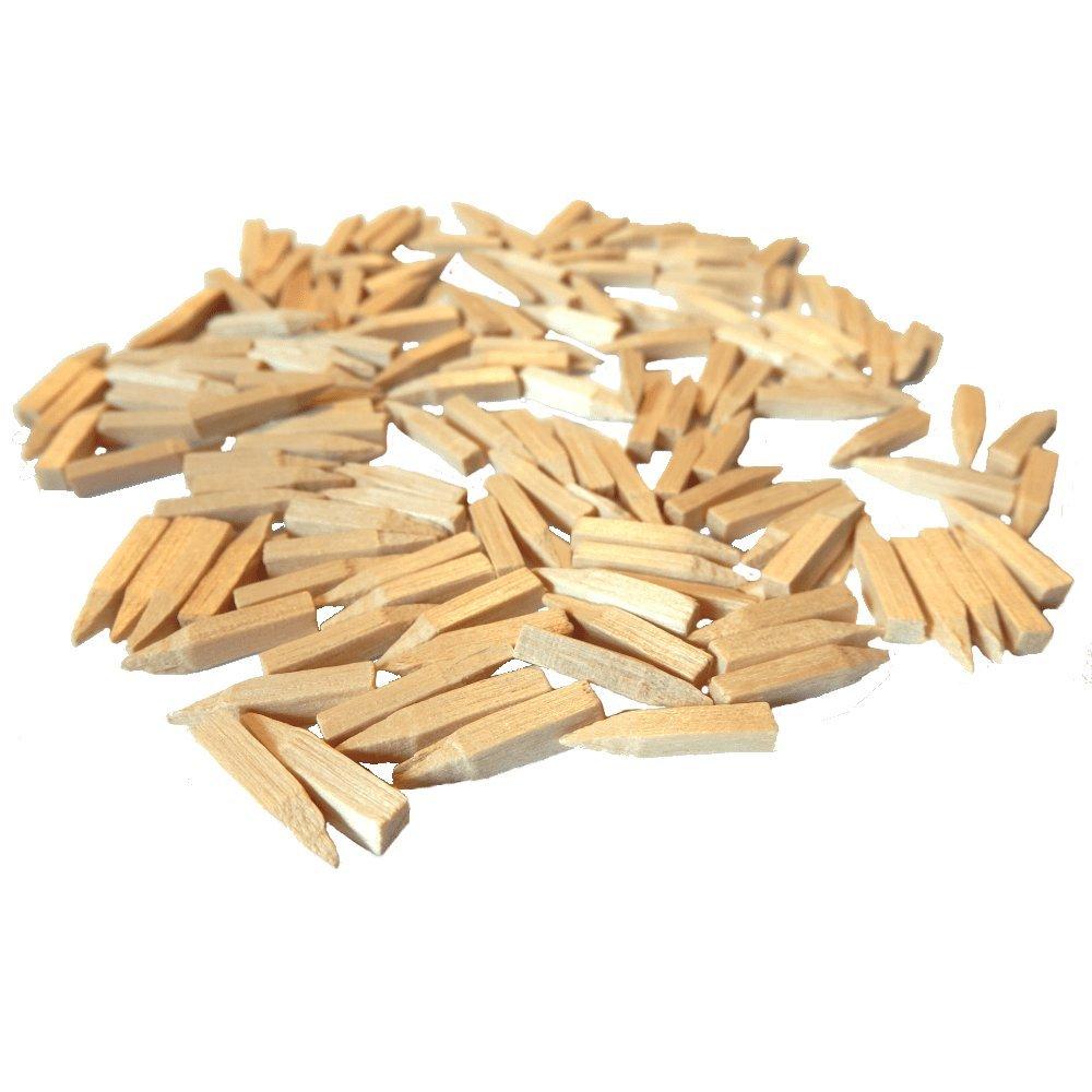 Holzstifte für Stuhlflechtarbeiten 3 x 12 mm