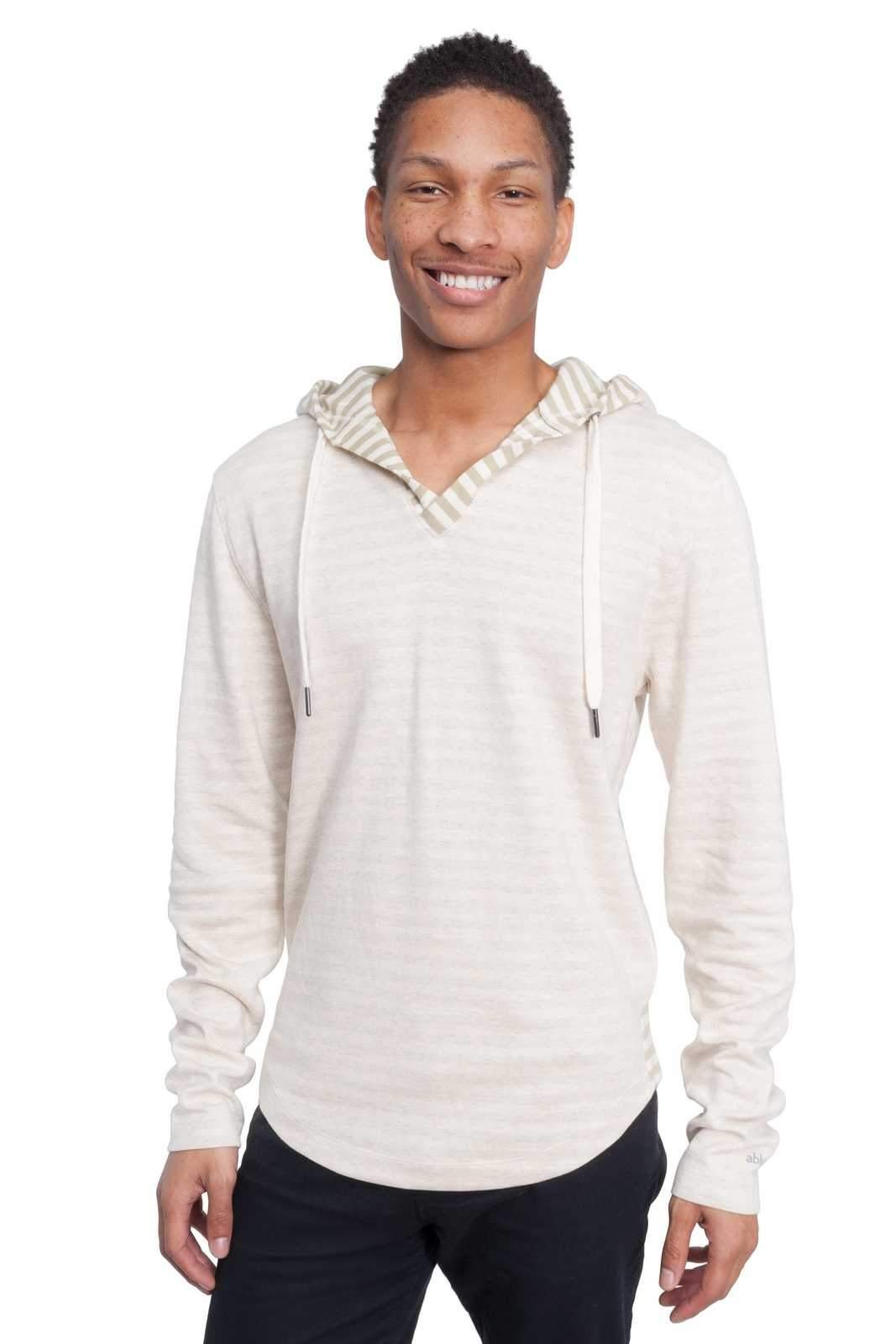 Ably Apparel Rain Plated Knit Hooded Shirt | repels liquids, Stains, and Odors