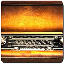 Liili Suqare Mousepad 8x8 Inch Mouse Pads/Mat IMAGE ID 32651136 Old radio from 1950 and the years