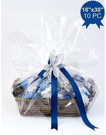 Amazon Com Gift Wrap Cellophane Bags Health Household