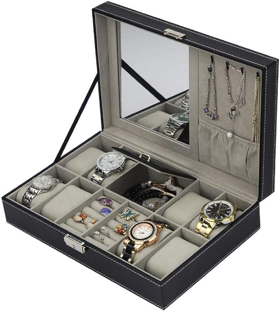 WATCHHE Organizador Caja De Almacenamiento De Relojes Relojero De ...