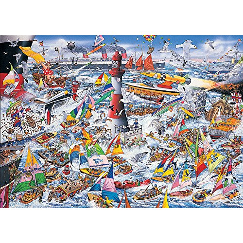 Gibsons I Love Boats Jigsaw Puzzle (1000 Piece) Puzzle