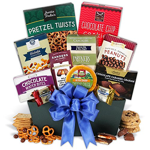 Snack and Chocolate Gift Basket Classic