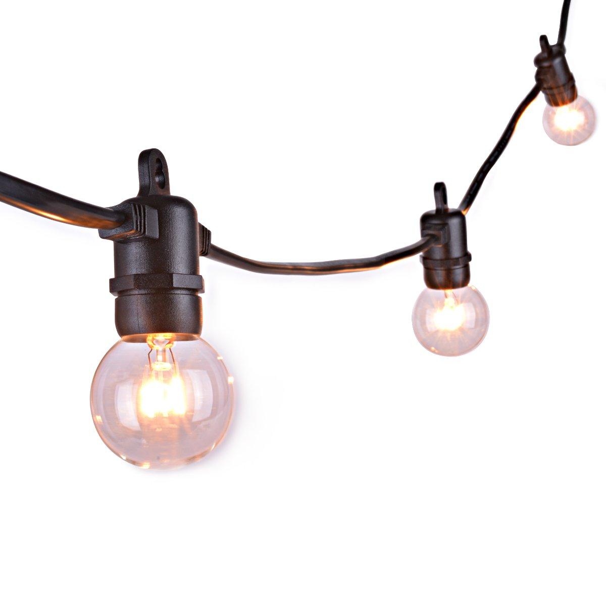 Sunix Impermeable con 3 m de extension de cable impermeable para el globo claro G40 en cadena luces