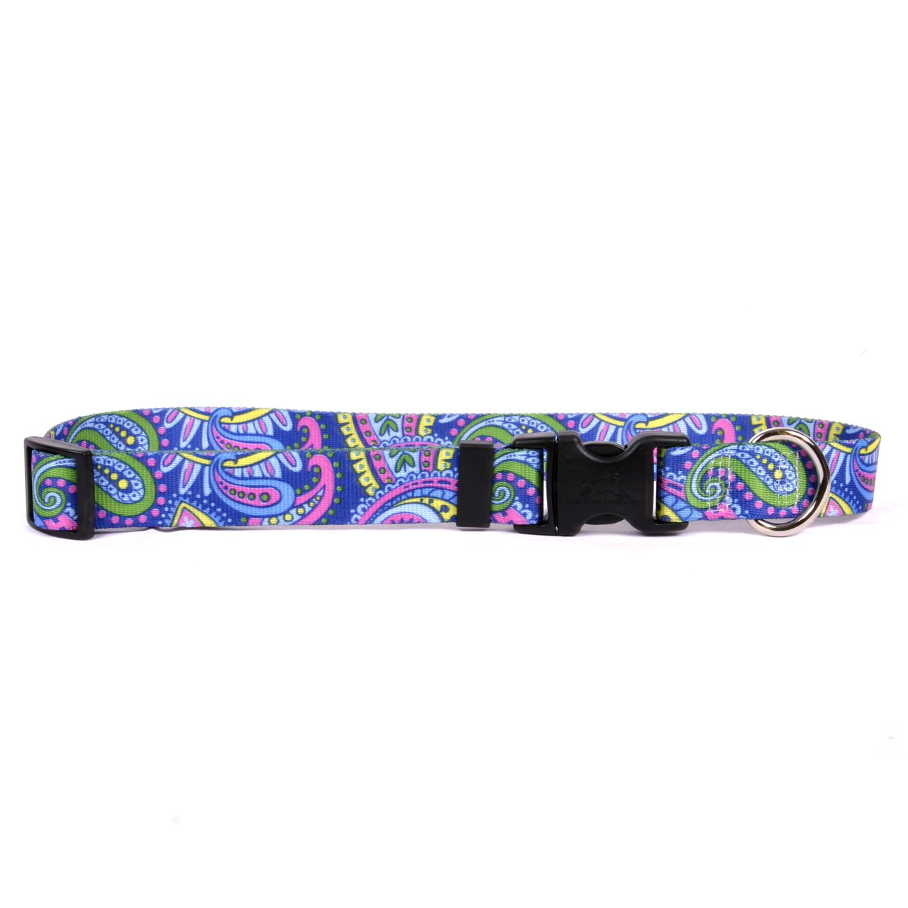 Yellow Dog Design Paisley Power Dog Collar, X-Small-3/8 wide and fits neck sizes 8 to 12''