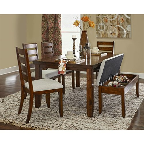 Powell Furniture 16D2006PC6 Gavin Wood 6PC Dining Set