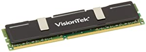 VisionTek 4GB DDR3 1333 MHz(PC3-10600) CL9 DIMM Low Profile Heat Spreader, Desktop Memory - 900385